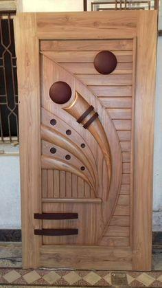 Wooden Glass Door, Wooden Front Door Design, Wood Bed Design, Wooden Front Doors, Glass Doors, Sliding Door Room Dividers, Bedroom False Ceiling Design, Dressing Table, Glass Design