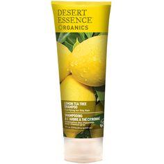 Desert Essence, Organics, Shampoo, Lemon Tea Tree, 8 fl oz (237 ml) - iHerb.com