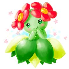 Bellossom are adorable.