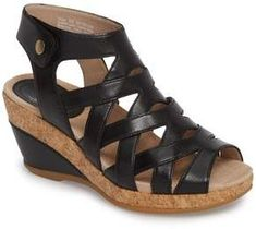 5905ca79558f Dansko Cecily Caged Wedge Sandal