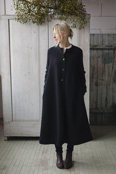BLACK Garden Sweater, Wool