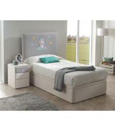 Comprar online Cabecero Infantil Tapizado BORDADO UNICORNIO Baby Room, Bed, Furniture, Home Decor, Home, Upholstered Headboards, Timber Frames, Bedside Tables, Headboards