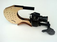 DSLR Cat shoulder rig for DSLR, HDSLR Film and Video Cameras. DIY, or Kit