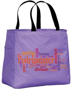 Pudelpointer in Words Tote Bag