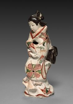 Japan, early Edo Period (1615-1868), porcelain with overglaze enamel decoration, Overall: h. 27.35 cm (10 3/4 inches). John L. Severance Fund 1964.106