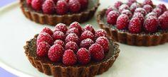Ghirardelli Recipe: Chocolate Raspberry Tartlets