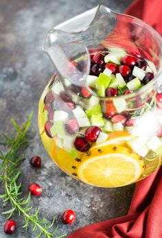 This Holiday Sangria is a MUST-try.
