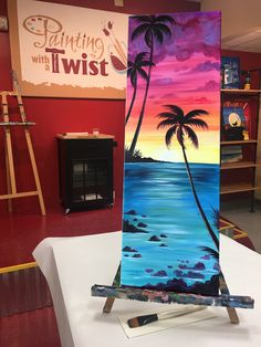 Here's the long and short of it: Our new 10x30 paintings look AMAZING! #Stretchyourimagination Find this event: https://pwat.art/2G2ZdYZ