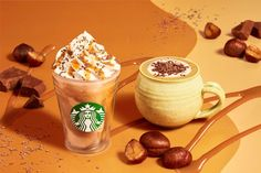 Starbucks Locations, Cacao Nibs, Beverage Packaging, Blended Coffee, Healthy Juices, Frappuccino, Coffee Break, High Tea, Mochi