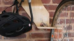 perch wall-mount bike stand by clankworks. via bltd