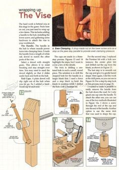 Bench Vise Plans - Workshop Solutions