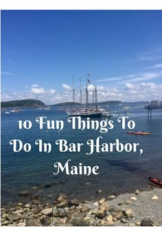 10 Fun Things To Do In Bar Harbor Maine. Acadia National Park, Whale Watching, Shopping, Take a Cruise, Enjoy Coffee and Restaurants Maine Road Trip, East Coast Road Trip, Us Road Trip, New England Cruises, New England Travel, Whale Watching Maine, Bar Harbor Me, Bar Harbour, Maine In The Fall