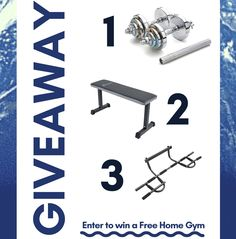 Help me win a free home gym from @jaykimmer at Hack Your Fitness!