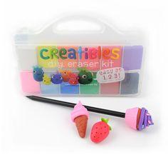Creative DIY Eraser Kit: Fun gift or stocking stuffer for crafty kids!