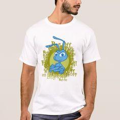 A Bug's Life Flik arms folded Disney. Producto disponible en tienda Zazzle. Vestuario, moda. Product available in Zazzle store. Fashion wardrobe. Regalos, Gifts. #camiseta #tshirt