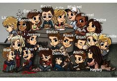 TVD and the originals - all so cute