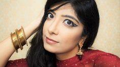 This look went LIVE on my YouTube channel. #graphiceyeliner #makeup (Link in Bio) . . . . . . #indianyoutuber #makeuplook #beautyvlogger #youtubeindia #ytcreatorsindia #youtuber #vlogger #model #runwaymakeup #cutcrease #like4like #followforfollow #sub4sub #mumbai #india #bhawnaahuja #missangelicsmile