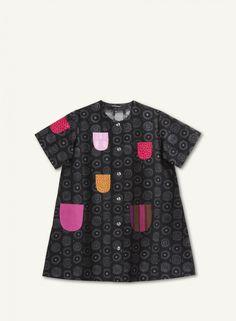 Lasten Iloinen takki -mekko #clothes #children #dress #finnish