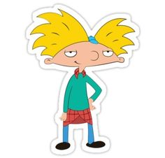 Hey Arnold sticker 2