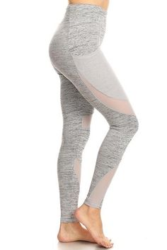 7ecfcae9be2e High Waist Yoga Pants with Mesh Pockets. Workout ShoesWorkout LeggingsJogging  ...