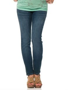 Tala Maternity Overbelly Embellished Back Pocket Straight-Leg ...