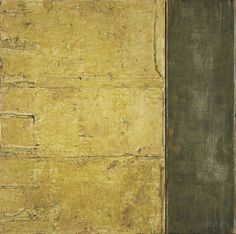 Su Xiaobai B. 1949 DOCUMENT-2 signed in Pinyin; signed in Chinese, titled and dated 2009 on the reverse, oil, lacquer, linen, and wood (diptych) 200 by 200 cm | sotheby's