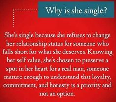 Why is she single?  #relationship #love