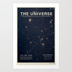 The Universe Art Print by Mike Gottschalk - $18.00