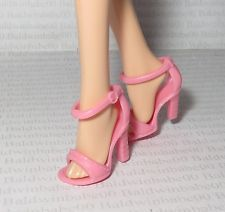 SHOES ~ MATTEL BARBIE BASIC DOLL MODEL MUSE TRIXIE PINK SANDALS HIGH HEEL