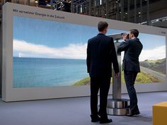 EnBW at Hannover Messe Interactive exhibits – Strukt