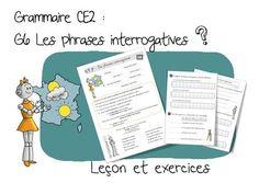 Réussir en grammaire au CE2 : G6 Phrases interrogatives | Bout de Gomme