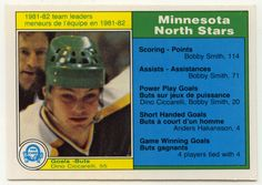 Dino Ciccarelli # 162 - 1982-83 O-Pee-Chee Hockey