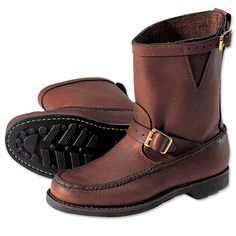 Just found this Mens Traditional Leather Boots - Custom Sandanona Pull On Boots -- Orvis on Orvis.com!