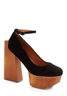 i wish i was short so i could wear crazy platform shoes