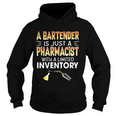 A #BARTENDER IS JUST A PHARMACIST WITH A LIMITED INVENTORY, Order HERE ==> https://www.sunfrogshirts.com/Drinking/129569262-835234691.html?48546, Please tag & share with your friends who would love it, carpenter working, gardening layout, gardening lighting #retten #feuerwehr #crossfit