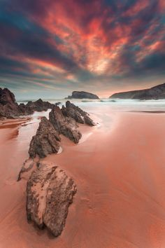 Playa de Arnia @ Liencres - Cantabria (Spain)