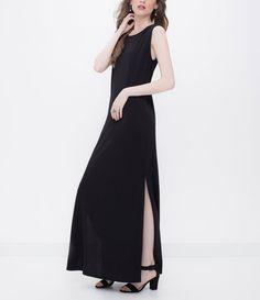Vestido feminino  Modelo longo  Fenda lateral  Marca: Cortelle  Tecido: crepe  Modelo veste tamanho: P           COLEÇÃO VERÃO 2016           Veja outras opções de    vestidos femininos.