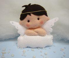 angelito sobre nube