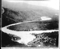 Quesnelle Forks,BC 1860's gold rush town