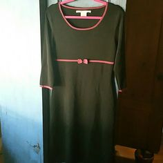 Max Studio Black Dress Long black dress! 65% rayon, 35% nylon. Machine wash cold. Max Studio Dresses Long Sleeve