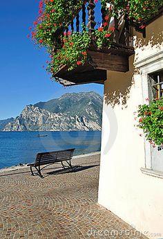 In Torbole, Lake Garda,Italy