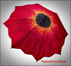 Czerwona Gerbera http://piekneparasolki.pl/185-parasolka-czerwona-gerbera.html