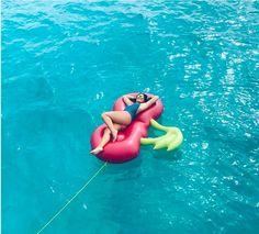 Bikini float maddy pool suit water