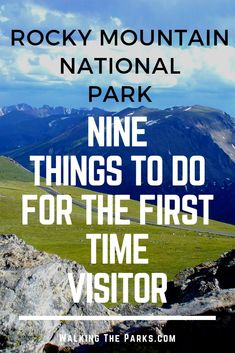 Looking for Things To Do in Rocky Mountain National Park? Here's a great list of awesome adventures to add to your Rocky Mountain National Park Itinerary! Check out our bucket list. #WalkingTheParks #RockyMountainNationalParkItinerary #RockyMountainNationalParkThingsToDo