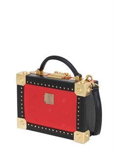 mcm - women - shoulder bags - berlin faux leather shoulder bag