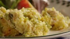 Broccoli, Rice, Cheese, and Chicken Casserole Video