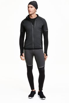 Winter running tights h&m Running Wear, Running Tights, Winter Running, Sport Fashion, Mens Fashion, Sport Outfits, Gym Outfits, Sport Wear, Workout