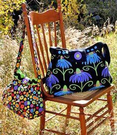 BoHo Bag Pattern by WhistlePig Creek Productions
