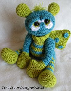 New Pattern, Cute Alien by Teri Crews Instant PDF Download