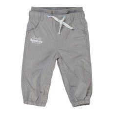 Pantalon gris en toile doublée
